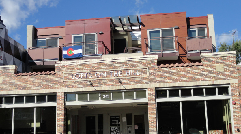 Boulder Lofts on the HIll