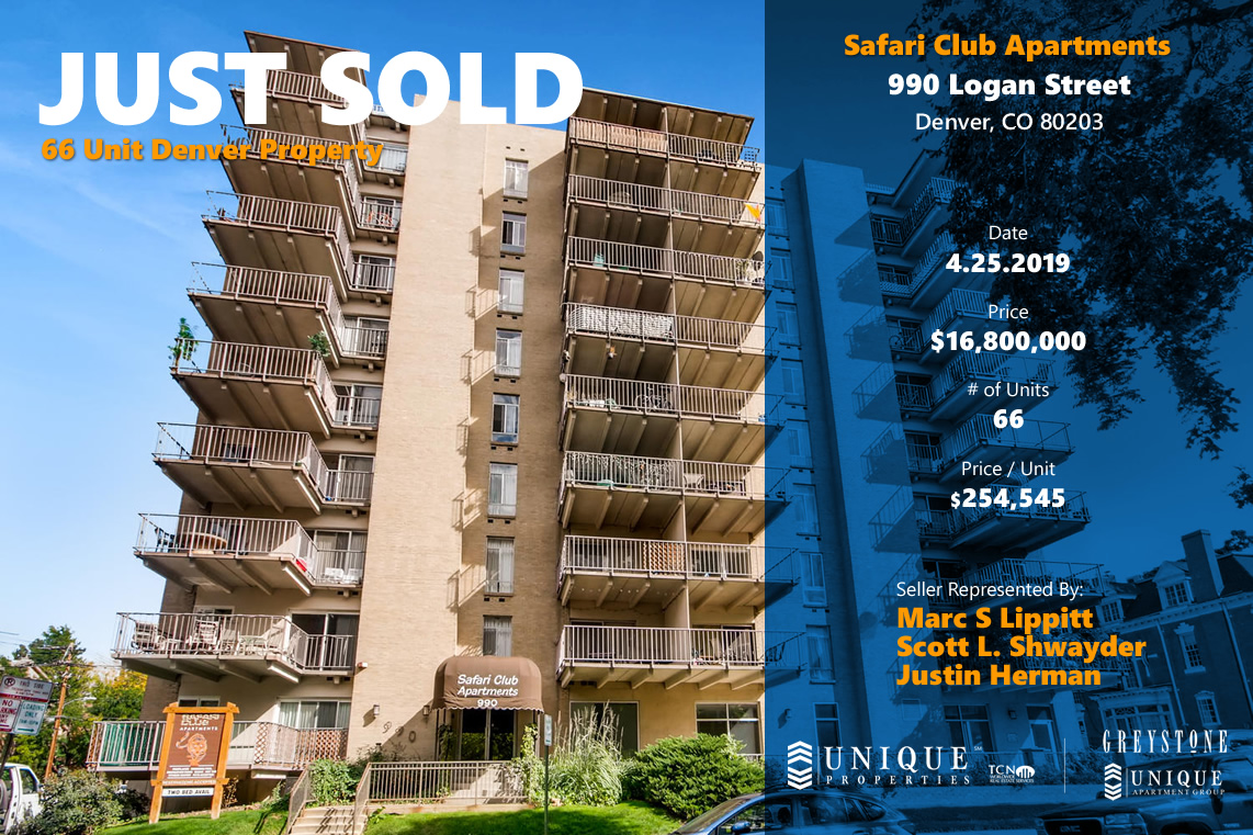 66 Unit Denver Property Sells for $16 8M | Unique Properties